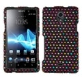 BasAcc Sprinkle Dots Diamante Case for Sony Ericsson TL30AT Xperia TL