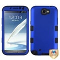 BasAcc Blue/ Black TUFF Hybrid Case for Samsung Galaxy Note 2 T889
