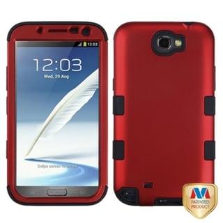 BasAcc Red/ Black TUFF Hybrid Case for Samsung Galaxy Note II T889