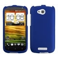 BasAcc Titanium Solid Dark Blue Case for HTC One VX