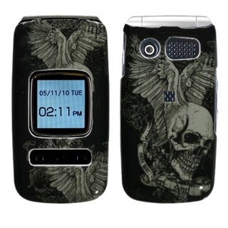 INSTEN Skull Wing Phone Case Cover for Pantech P2000 Breeze II