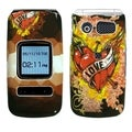 BasAcc Love Tattoo Case for Pantech P2000 Breeze II