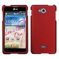 BasAcc Titanium Solid Red Case for LG Spirit 4G MS870