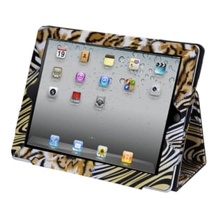 BasAcc Yellow Patched Skins MyJacket Case for Apple iPad 2/ 4