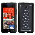 BasAcc Clear/ Black Gummy Case for HTC Windows Phone 8X