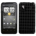 BasAcc Smoke Argyle Pane Candy Case for HTC Evo Design 4G