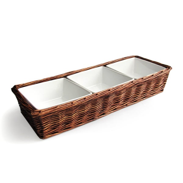 Willow 3-section Serving Set