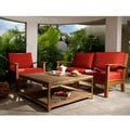 Abbyson Living Semeru Deepseater Outdoor Living Room Set