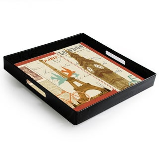 Notions Travel Postcards Rect Tray