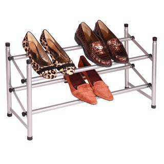 Richards Homewares Stacking/ Telescoping Metal Shoe Rack