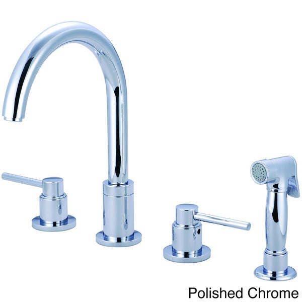 Pioneer Motegi Series Double-handle Kitchen Widespread Faucet