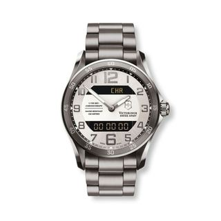 Victorinox Swiss Army Men's Chrono Classic Gunmetal Ana/Digi Watch