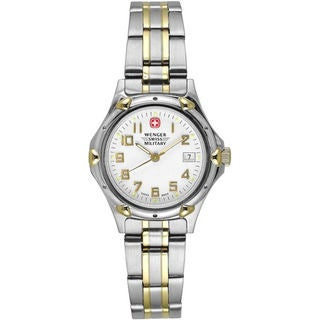 Wenger Women's Standard Issue 18k Gold Plated Watch (Refurbished)
