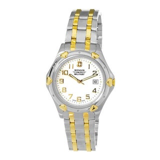 Wenger Men's Standard Issue Two-tone Watch (Refurbished)