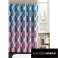 Madison Park Central Park Shower Curtain and Ring Set