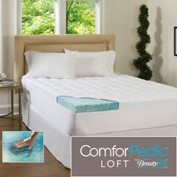 Beautyrest 4.5-inch Supreme Gel Memory Foam and Fiber Mattress Topper
