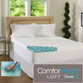 Beautyrest 2-inch Big Loft Gel Memory Foam Mattress Topper with Cover