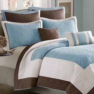 Madison Park Franklin 7-piece Coverlet Set