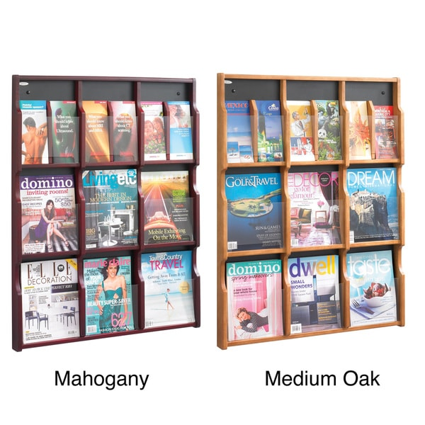 Safco Expose 9 Magazine / 18 Pamphlet Display