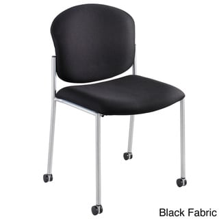 Safco Black Diaz Guest Chair