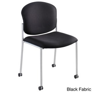 Safco Black Diaz Guest Chair