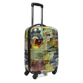 National Geographic Explorer Collage 20-inch Hardside Carry-on Spinner Upright