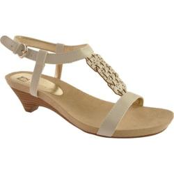 Women's Anne Klein Toast White Synthetic