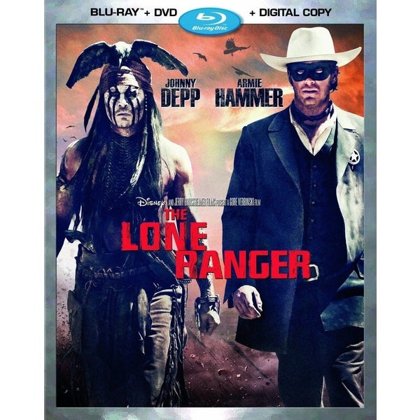 The Lone Ranger (Blu-ray/DVD) 11314365