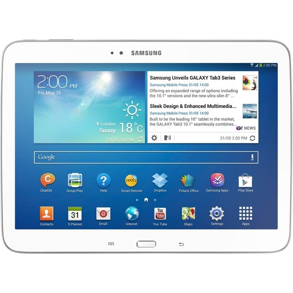 "Samsung Galaxy Tab 3 GT-P5210 16 GB Tablet - 10.1"" - Wireless LAN - I"