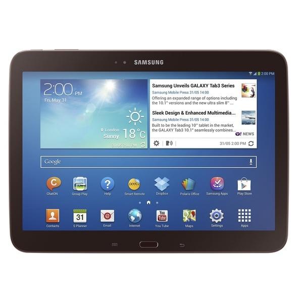 Samsung 16GB Galaxy Tab 3 10.1-inch Wi-Fi Tablet in Gold Brown