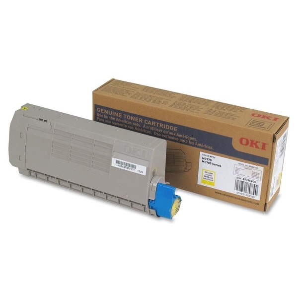 Oki Yellow Toner Cartridge - 11500 Pages
