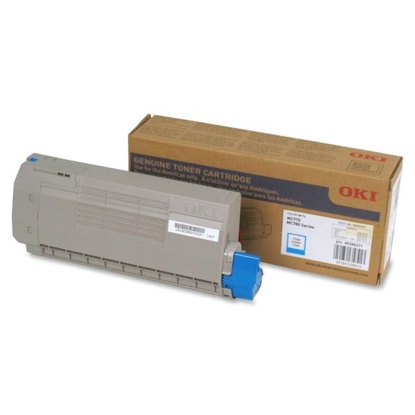 Oki Cyan Toner Cartridge - 11500 Pages