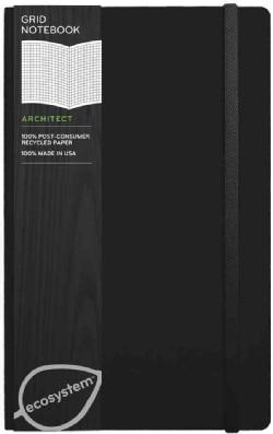 Ecosystem Grid Journal Medium, Onyx (Notebook / blank book)