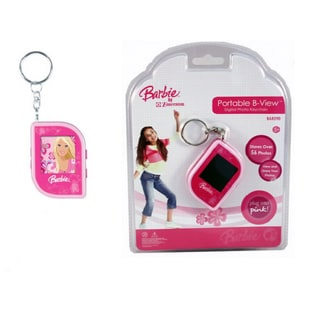 Mattel Barbie Pink Portable B-View Digital Photo Keychain