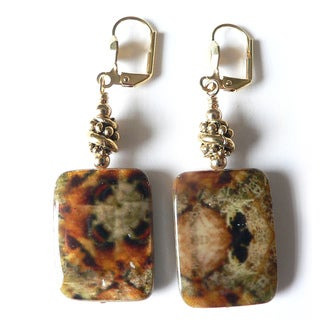 'Danielle' Shell Dangle Earrings