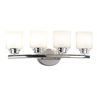 Bow 4-light Polished Nickel Vanity