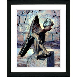 Studio Works Modern 'Earth Angel' Framed Art Print