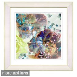 Studio Works Modern 'Scented Bloom - Citrus Spice' Framed Art Print