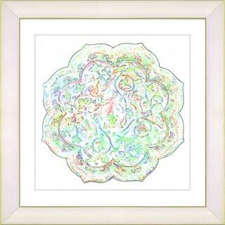 Studio Works Modern 'Platos - Alabaster Mint' Framed Art Print