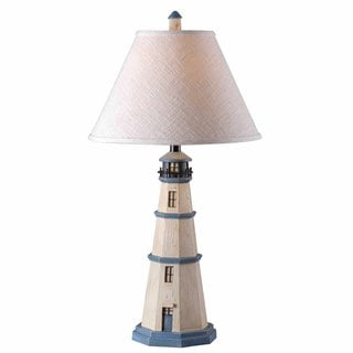 Oreille 1-light Antique White Table Lamp
