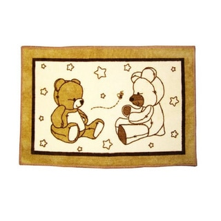Little Bedding Dreamland Teddy Nursery Rug
