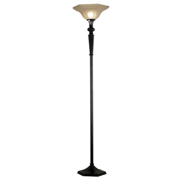 Custer 1-light Oil Rubbed Bronze Torchiere