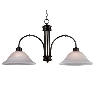 Moana 36-inch Long With Oil Rubbed Bronze Finish 2-light Island Light