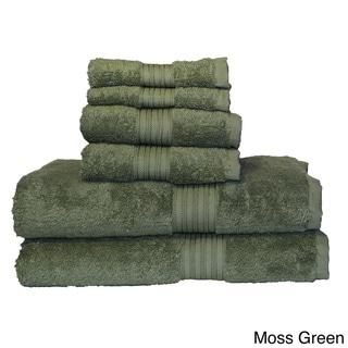 Majestic Egyptian Cotton 6-piece Towel Set
