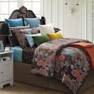 EverRouge India 7-piece Cotton Duvet Cover Set