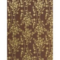 Brewster Bronze Floral Wallpaper