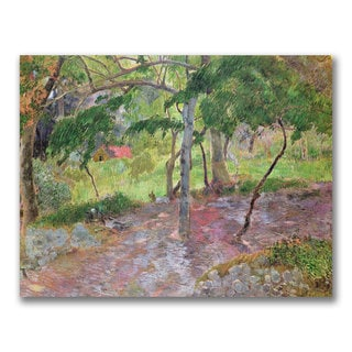 Paul Gauguin 'Tropical Landscape Martinique' Canvas Art