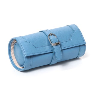 Morelle Olivia Blue Belted Jewelry Roll