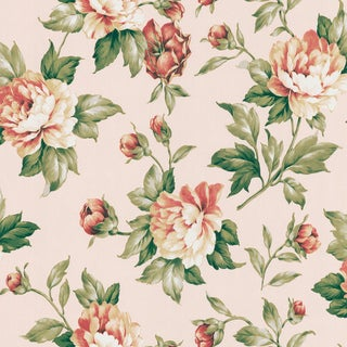 Brewster Green Vintage Botanical Wallpaper