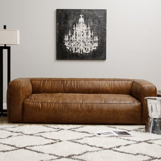 Diva Leather Outback Bridle Sofa